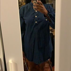 Urban renewal denim tunic/dress